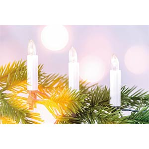 LED candle fairy lights, 30 LEDs, 11.6 m HEITRONIC 39965