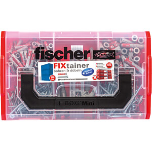 FIXtainer drilling and wall plug set FISCHER BEFESTIGUNGSSYSTEME 00547166