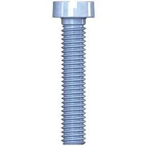 Cheese head screw, slot, M6, 25 mm REISSER SCHRAUBENTECHNIK