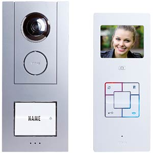 Video door intercom system set 3.5'', single-dwelling M-E 6310