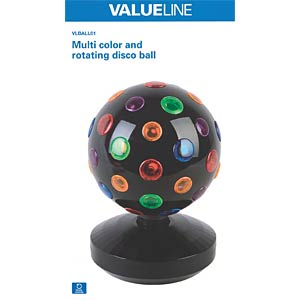 LED-Lichteffekt, Discokugel VALUELINE VLBALL01