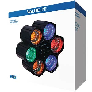 LED-Lichteffekt, Lichtorgel, 6er Set VALUELINE VLLINKLED20