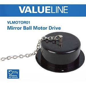 Motor, für Spiegelkugeln VALUELINE VLMOTOR01