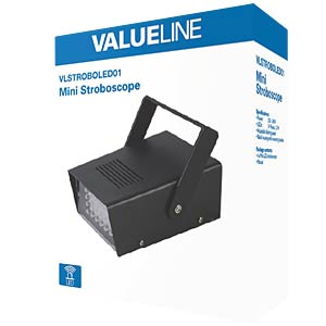 LED-Stroboskop VALUELINE VLSTROBOLED01