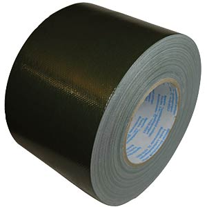 Original reinforced duct tape, bronze green 100 mm x 50 m FREI