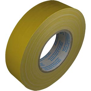 Original reinforced duct tape, sulphur yellow, 38 mm x 50 m FREI