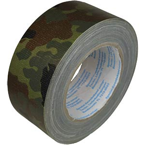 Original reinforced duct tape, flecktarn, 50 mm x 25 m FREI