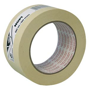 NOPI painter's tape, 50 m x 50 mm NOPI 55513-00001-00