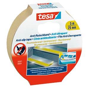 TESA Anti-Rutschband, 5m x 25mm,fluoreszierend TESA 55587-00004-00/55580-00000-11
