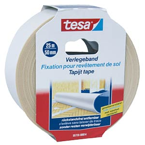 TESA laying tape, removable, 25 m x 50 mm TESA 55735-00014-11