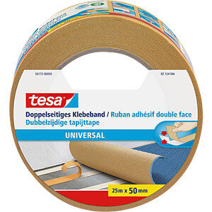 TESA double-sided adhesive tape, 25 m x 50 mm TESA 56172-00003-11