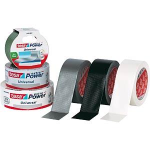 Folienband tesa extra Power® Universal, 50 m x 50 mm, weiß TESA 56389-00002-06