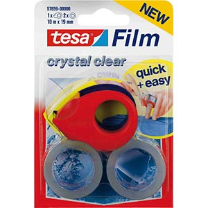 TESA mini dispenser for rolls up to 10 m x 19 mm TESA 57859-00000-00