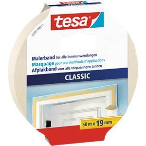 tesa® Malerband Classic, 50 m x 19 mm TESA 05281-00012-05