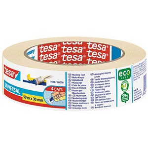 tesa® Malerband Basic, 50 m x 30 mm TESA 05287-00000-02