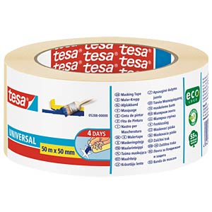 tesa® Malerband Basic, 50 m x 50 mm TESA 05288-00000-03