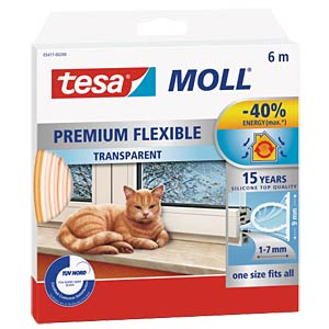 tesamoll Premium Flexible, 6 m, transparent TESA 05417-00200-02
