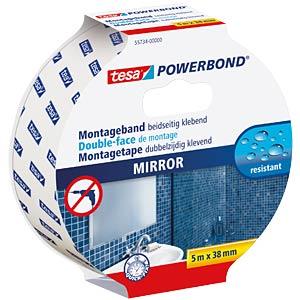 tesa Powerbond® Spiegel, 5,0 m x 38 mm TESA 55734-00000-02