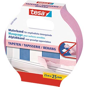 Malerband Tapeten, 25 m x 25 mm TESA 56260-00000-03