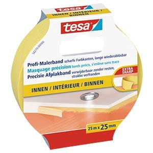 tesa® Profi-Malerband Innen, 25 m x 25 mm TESA 56270-00000-00