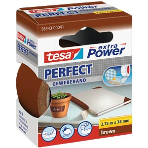 TESA extra Power cloth tape, 38 mm, brown TESA 56343-00041-03