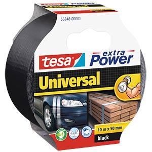 Folienband tesa extra Power® Universal, 10 m x 50 mm, schwarz TESA 56348-00001-05