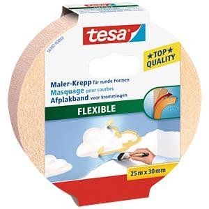 tesa® Malerband Kurven, 25 m x 19 mm TESA 56360-00003-02