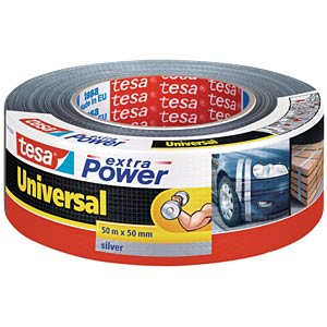 TESA extra Power Universal, 50 mm, 50 m, silver TESA 56389-00000-11