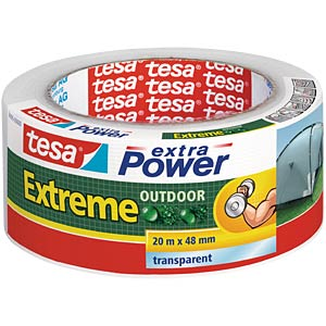 Folienband tesa extra Power® Extreme Outdoor, 20 m x 48 mm TESA 56395-00000-00