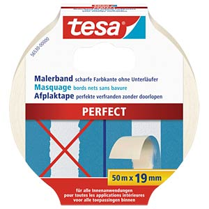 tesa® Malerband Perfect, 50 m x 19 mm TESA 56530-00000-00