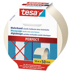 tesa® Malerband Perfect, 50 m x 50 mm TESA 56532-00000-00