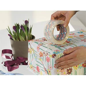 tesapack® Paketband, kristall-klar, 66 m x 50 mm TESA 57807-00000-01