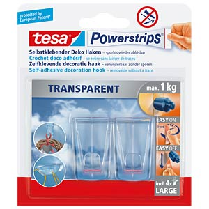 tesa® Powerstrips® Deco-Haken XL TESA 58813-00000-00