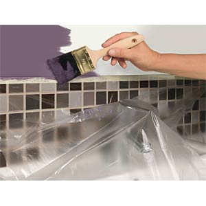 Malerband mit Abdeckfolie tesa Easy Cover® Premium, Größe M TESA 59177-00003-03