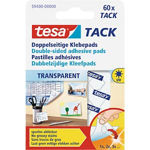 TESA TACK, 60 pieces TESA 59400-00000-00