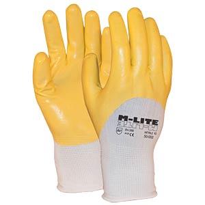 Handschuh M-Lite Nitrile 50-002, Gr.7 MAJESTIC 1.50.002