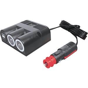 KFZ-USB Aufbau- Ladesteckdose, 2*2.500 mA, St PROCAR 67325500