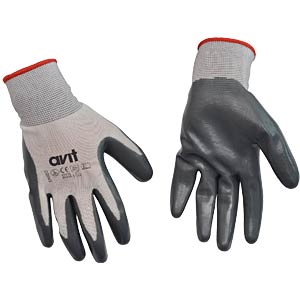Gloves, nitril coated, XL, EN420 ;EN388 AVIT AV13073