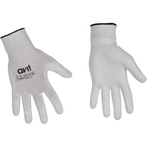 Work gloves, PU coated, L, EN420, EN388 AVIT AV13074