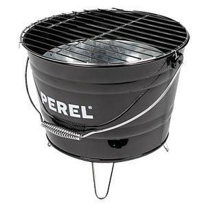 Barbecue Bucket Grill, black PEREL BB100101