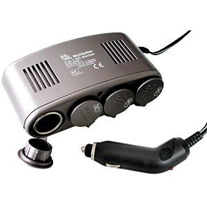 4-in-1 in-car socket, 12 V EAL 16567