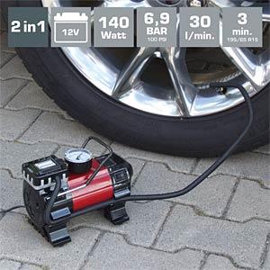 12 V-Kompressor mit LED-Lampe DINO LED 13609