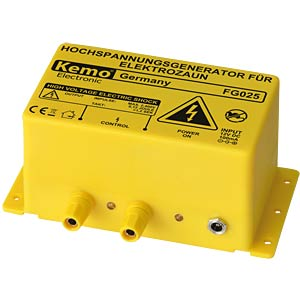 Electric fence system - high-voltage generator KEMO FG 025