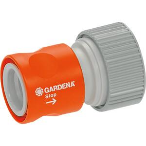 GARDENA 2814-20 - Profi-System-Übergangsstück mit Wasserstop