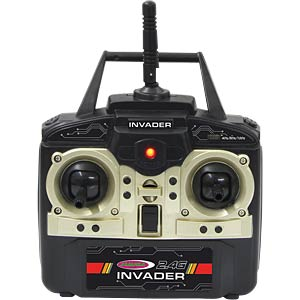 Quadrokopter Invader, 2,4 GHz JAMARA 03 8100