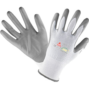 Work Gloves, Genoa Blue, size 10 HASE LEDERFABRIK 508560