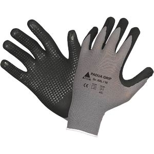 Assembly gloves, Padua Grip, size 8 HASE LEDERFABRIK 508150 8