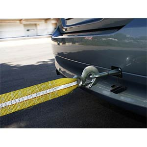Vehicle tow rope, professional, 6000kg EAL 26051