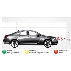 Ultraschall-Einparkhilfe für Garagen und Carports KH SECURITY 310261