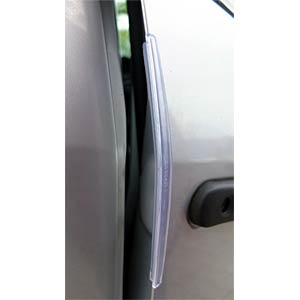 Car door protection — barely visible FREI